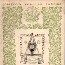 Libros antiguos: ENRIC BAGUÉ . LLEGENDES DE LA HISTÒRIA DE CATALUNYA (BARCINO, 1936). Lote 180880991