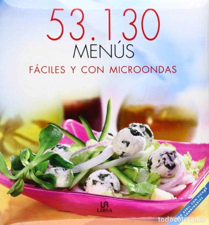 GASTROALIMENTO: 53,130 MENÚS FÁCILES Y CON MICROONDAS (Libros Antiguos, Raros y Curiosos - Cocina y Gastronomía)