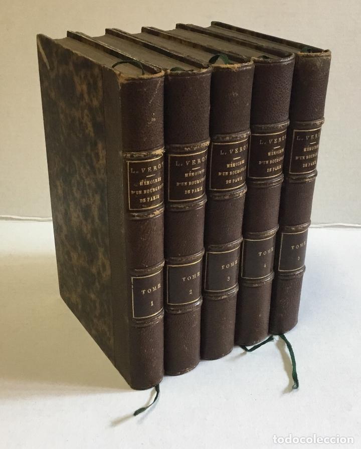 MÉMOIRES D'UN BOURGEOIS DE PARIS. COMPRENANT: LA FIN DE L'EMPIRE - LA RESTAURATION... - VERON, L. (Libros Antiguos, Raros y Curiosos - Historia - Otros)
