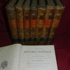 Libros antiguos: (MF) DR. A.E.BREHM - LA CREACIÓN, HISTORIA NATURAL 1880 MAMIFEROS, AVES, REPTILES, PECES,MINERALOGIA. Lote 181034895