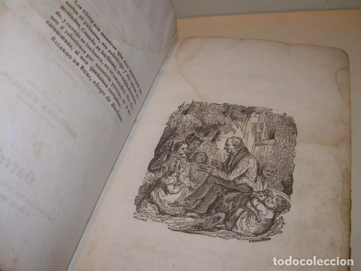 Libros antiguos: LIBRO TAPAS DE PIEL...EL ABUELO....AÑO. 1840....522 PAGINAS. - Foto 4 - 181074791