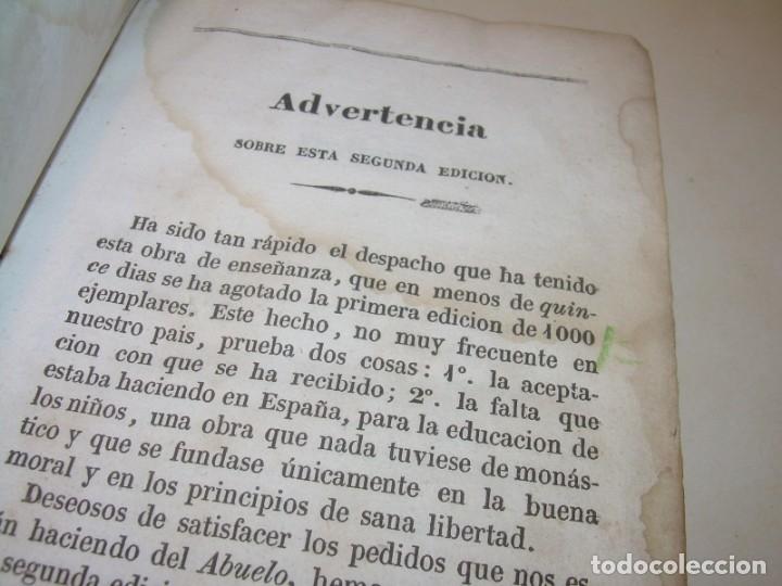 Libros antiguos: LIBRO TAPAS DE PIEL...EL ABUELO....AÑO. 1840....522 PAGINAS. - Foto 5 - 181074791
