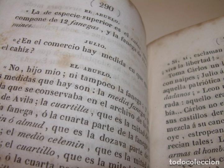 Libros antiguos: LIBRO TAPAS DE PIEL...EL ABUELO....AÑO. 1840....522 PAGINAS. - Foto 10 - 181074791