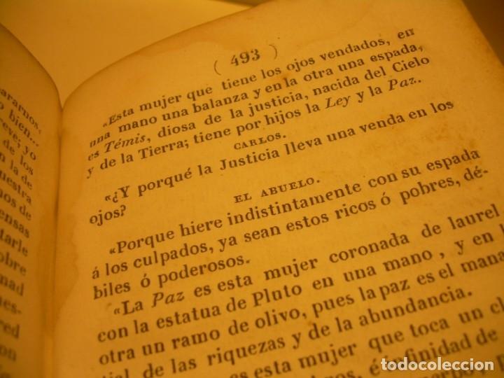 Libros antiguos: LIBRO TAPAS DE PIEL...EL ABUELO....AÑO. 1840....522 PAGINAS. - Foto 13 - 181074791