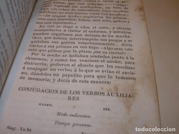 Libros antiguos: LIBRO TAPAS DE PIEL...EL ABUELO....AÑO. 1840....522 PAGINAS. - Foto 14 - 181074791