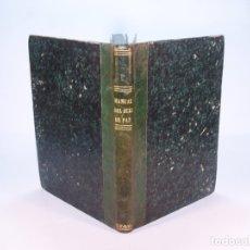 Libros antiguos: MANUAL DEL JUEZ DE PAZ Y DEL ALCALDE EN EL EJERCICIO DE SUS FUNCIONES JUDICIALES. D. CELESTINO MAS Y. Lote 181077092