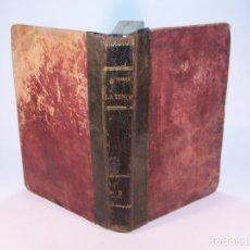 Libros antiguos: AUTORES LATINOS. VIDA Y ESCRITOS DE TITO LIVIO. CIRCA 1850.. Lote 181077651