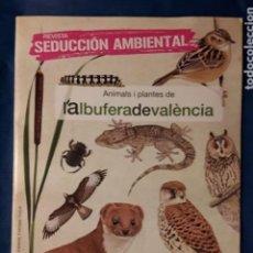 Libros antiguos: ANIMALES I PLANTES DE L' ALBUFERA DE VALENCIA- AUS, PEIXOS, INSECTES ETC -ILUSTRACIONES NATURALEZA. Lote 158592434