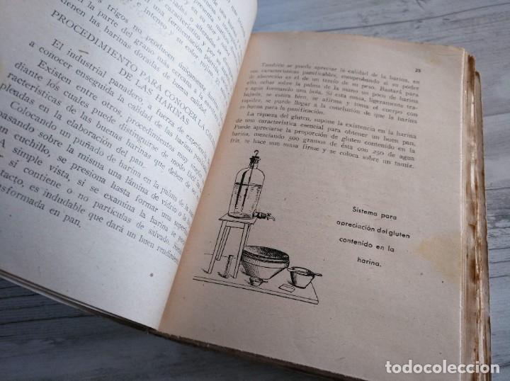 Libros antiguos: RARO: EL PANADERO PRÁCTICO, MANUAL TÉCNICO DE PANADERÍA - JOSÉ J. MORALES - Foto 3 - 181404818