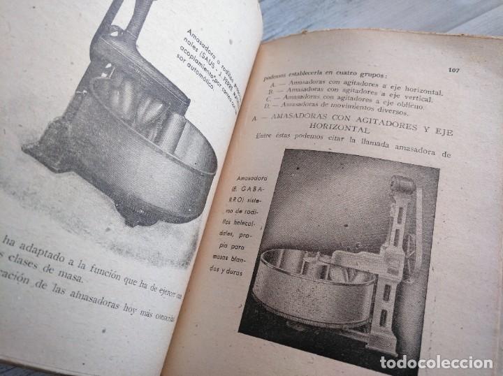 Libros antiguos: RARO: EL PANADERO PRÁCTICO, MANUAL TÉCNICO DE PANADERÍA - JOSÉ J. MORALES - Foto 4 - 181404818