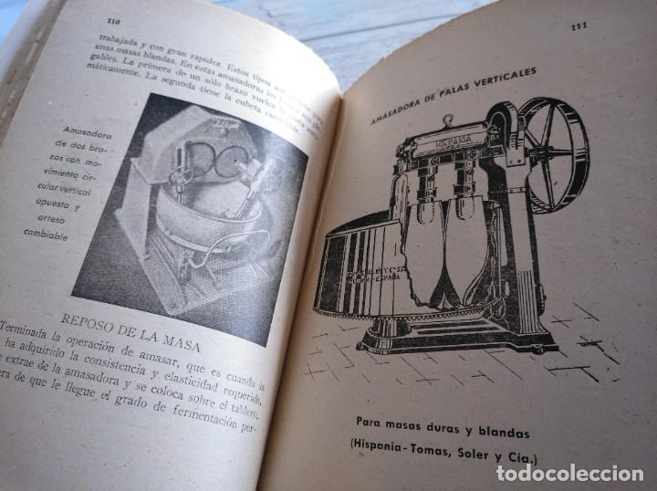 Libros antiguos: RARO: EL PANADERO PRÁCTICO, MANUAL TÉCNICO DE PANADERÍA - JOSÉ J. MORALES - Foto 5 - 181404818