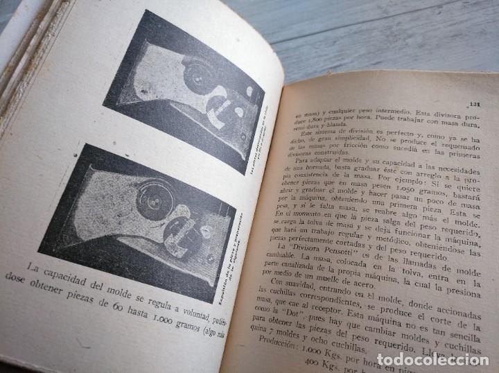 Libros antiguos: RARO: EL PANADERO PRÁCTICO, MANUAL TÉCNICO DE PANADERÍA - JOSÉ J. MORALES - Foto 6 - 181404818