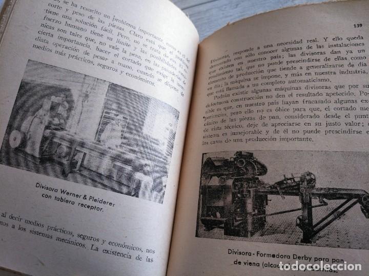 Libros antiguos: RARO: EL PANADERO PRÁCTICO, MANUAL TÉCNICO DE PANADERÍA - JOSÉ J. MORALES - Foto 7 - 181404818