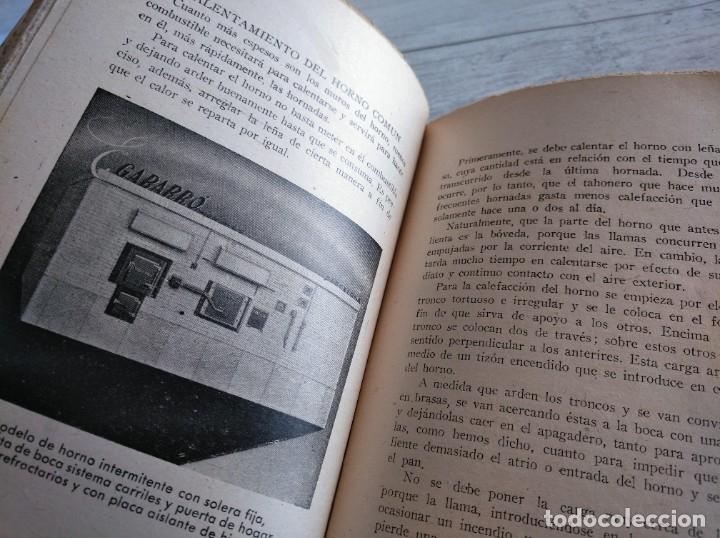 Libros antiguos: RARO: EL PANADERO PRÁCTICO, MANUAL TÉCNICO DE PANADERÍA - JOSÉ J. MORALES - Foto 8 - 181404818
