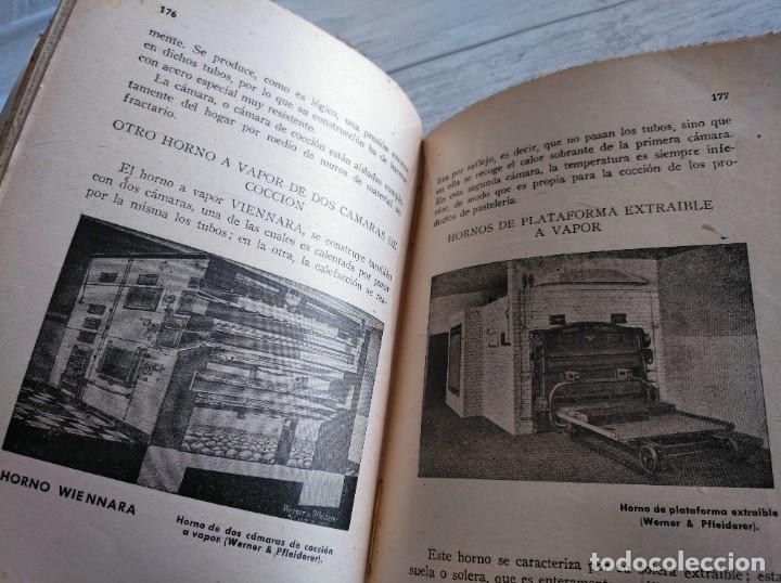 Libros antiguos: RARO: EL PANADERO PRÁCTICO, MANUAL TÉCNICO DE PANADERÍA - JOSÉ J. MORALES - Foto 9 - 181404818