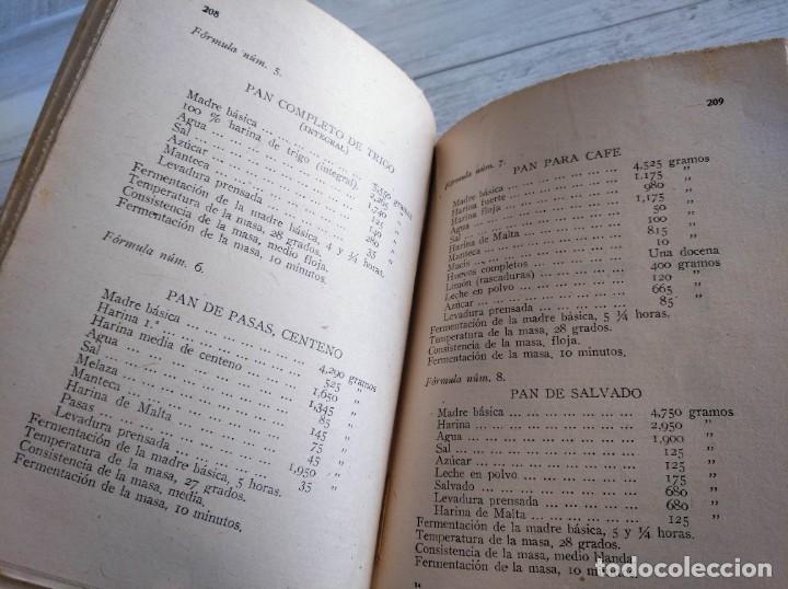 Libros antiguos: RARO: EL PANADERO PRÁCTICO, MANUAL TÉCNICO DE PANADERÍA - JOSÉ J. MORALES - Foto 10 - 181404818