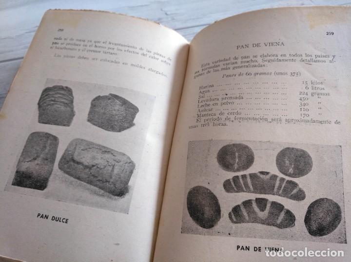 Libros antiguos: RARO: EL PANADERO PRÁCTICO, MANUAL TÉCNICO DE PANADERÍA - JOSÉ J. MORALES - Foto 11 - 181404818