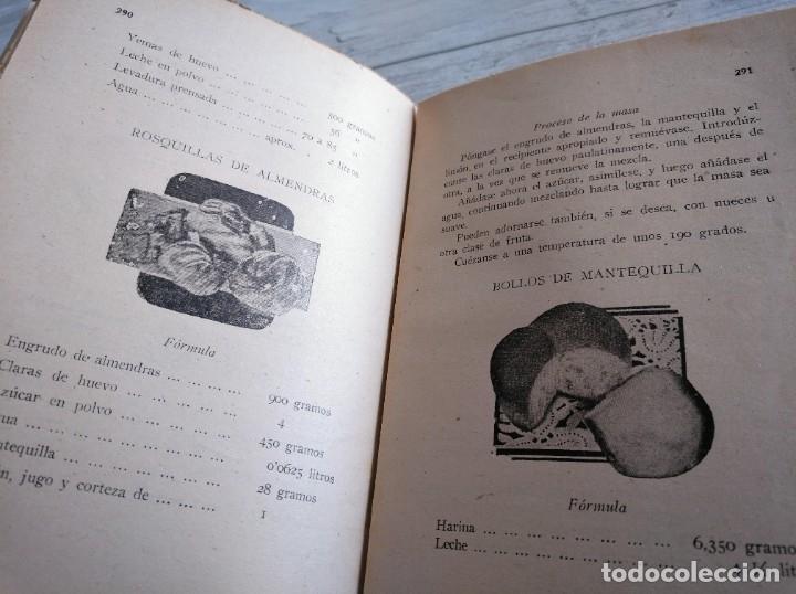 Libros antiguos: RARO: EL PANADERO PRÁCTICO, MANUAL TÉCNICO DE PANADERÍA - JOSÉ J. MORALES - Foto 12 - 181404818