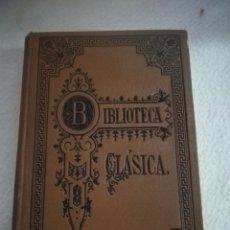 Livres anciens: BIBLIOTECA CLASICA. OBRAS DRAMATICAS DE EURIPIDES. EDUARDO MIER Y BARBERY. TOMO I. 1909. MADRID. Lote 181431776