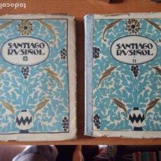 Libros antiguos: SANTIAGO RUSIÑOL MONOGRAFIAS DE ARTE. Lote 181458667