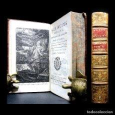 Libros antiguos: AÑO 1770 TERCERA EDICIÓN LAS NOCHES DE YOUNG GRABADO FRONTISPICIO SOLO 5 EJEMPLARES EN ESPAÑA. Lote 181468392