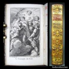 Libros antiguos: AÑO 1768 PRIMERA EDICIÓN BIBLIOTECA DEL TEATRO FRANCÉS GRABADO FRONTISPICIO 1 EJEMPLAR EN ESPAÑA. Lote 181490431