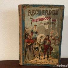 Libros antiguos: RECUERDOS HISTÓRICOS DEL MUNDO. CRISTOBAL DE REYNA. EDITORIAL SATURNINO CALLEJA 1876. Lote 181508950