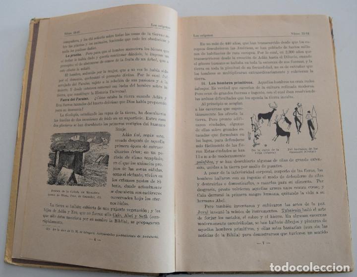 Libros antiguos: EPÍTOME DE HISTORIA UNIVERSAL - TERCERA EDICIÓN - P. RAMÓN RUIZ AMADO - AÑO 1931 - Foto 4 - 181550601