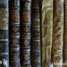 Libros antiguos: FEIJOO. THEATRO CRÍTICO UNIVERSAL... MADRID, DE 1732 A 1759. NUEVE VOLS. ENCUADERNACIONES DIVERSAS.. Lote 181558590