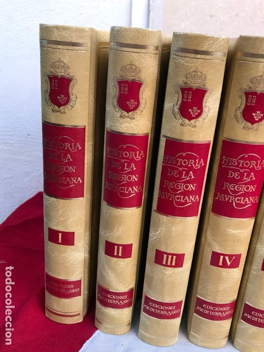 Libros antiguos: MURCIA- HISTORIA DE LA REGION MURCIANA- FRANCISCO CHACON JIMENEZ Y OTROS- 1.988- 1.989 - Foto 2 - 181586782