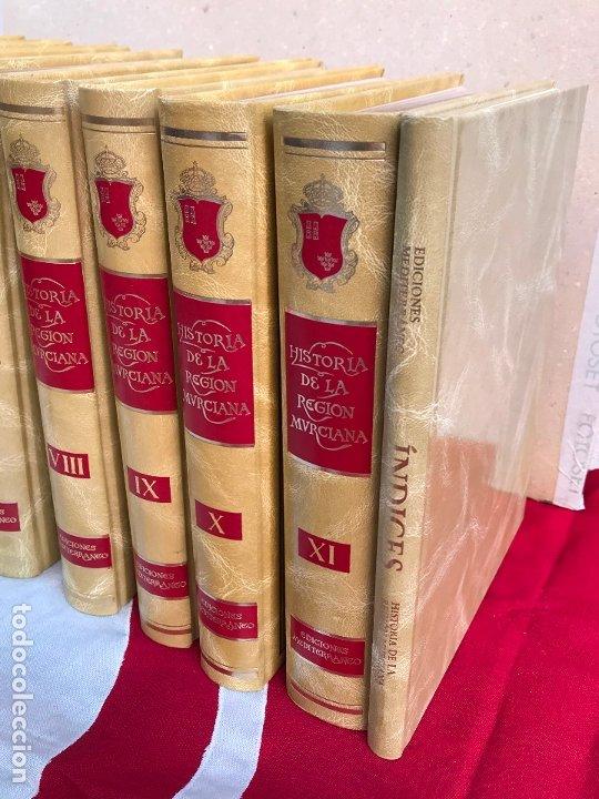 Libros antiguos: MURCIA- HISTORIA DE LA REGION MURCIANA- FRANCISCO CHACON JIMENEZ Y OTROS- 1.988- 1.989 - Foto 4 - 181586782