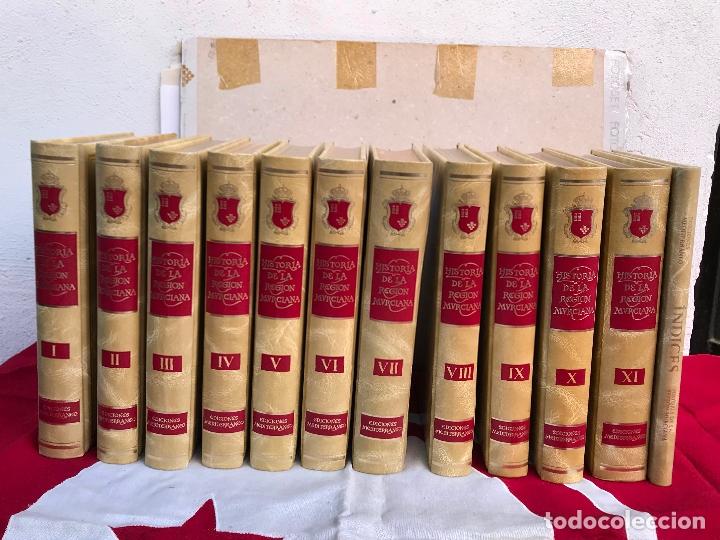 MURCIA- HISTORIA DE LA REGION MURCIANA- FRANCISCO CHACON JIMENEZ Y OTROS- 1.988- 1.989 (Libros Antiguos, Raros y Curiosos - Historia - Otros)
