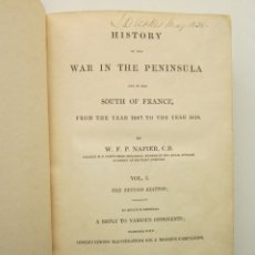 Libros antiguos: NAPIER. HISTORY OF THE WAR IN THE PENINSULA AND IN THE THE SOUTH OF FRANCE. 1832. Lote 181593933