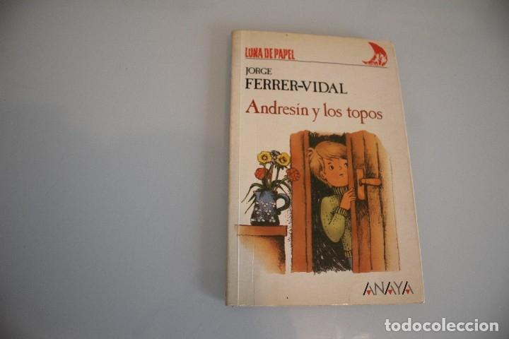 ANDRESIN Y LOS TOPOS (Libros Antiguos, Raros y Curiosos - Literatura Infantil y Juvenil - Otros)