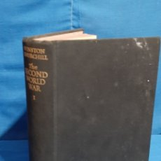 Libros antiguos: WINSTON CHURCHILL.THE SECOND WORLD WAR VOLUME I.THE GATHERING STORM.CASSELL. Lote 181635202