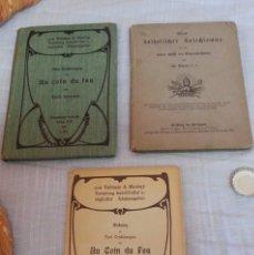 Libros antiguos: LIBROS ANTIGUOS DE MÚSICA. AÑO 1906. ESCRITOS EN ALEMÁN. Lote 181692271