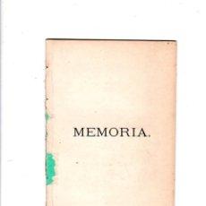 Libros antiguos: MEMORIA DEL ACTO DE LA APERTURA DEL CURSO DE 1873 A 1874. D. JUAN MIRO SALGADO. 1873. Lote 181712355