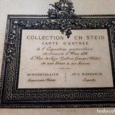 Libros antiguos: COLECCION STEIN OBJETS D'ART 1886 PORCELANA SEVRES LIMOGE SAXE TAPICES VITRAUX RELOJES BRONCES ETC . Lote 181745345