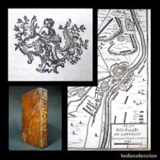 Libros antiguos: AÑO 1766 PARODIA DE VOLTAIRE LA HENRIADA TRAVESTIDA RARA EDICIÓN 3 EN EL MUNDO ÉPICA GRABADOS. Lote 181821703
