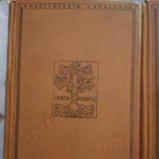 Libros antiguos: RAHOLA, CARLES. LA CIUTAT DE GIRONA. I I II. BARCINO 1929.. Lote 181988153