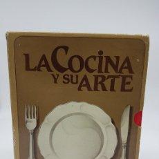 Livros antigos: LA COCINA Y SU ARTE EN 6 TOMOS ( ED. CREDSA 1983 ). Lote 181993636