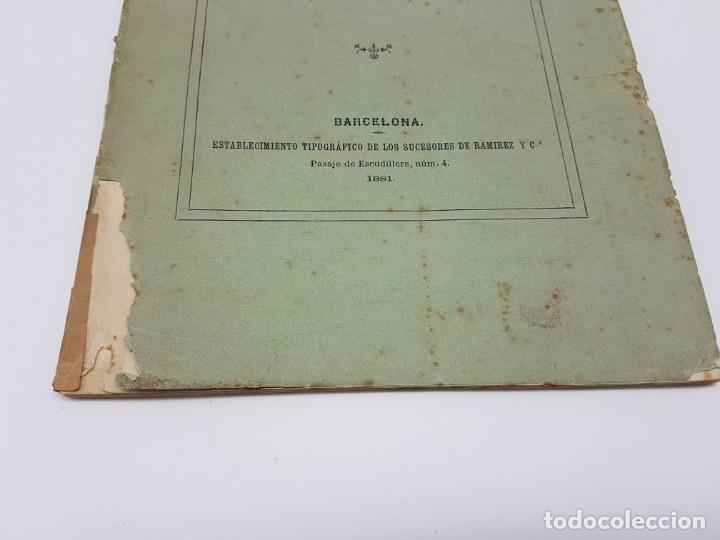 Libros antiguos: MEMÓRIA PARA DOCTOR MEDICINA ( SUDORES MORBOSOS ) BARCELONA 1881 - Foto 2 - 181999211