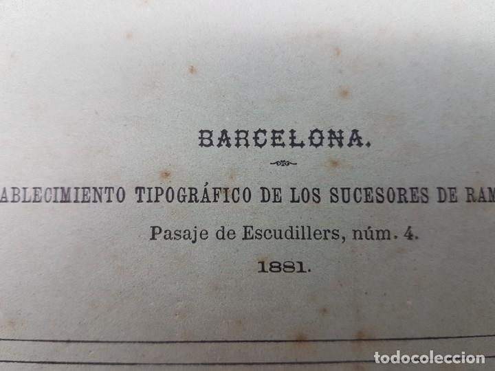 Libros antiguos: MEMÓRIA PARA DOCTOR MEDICINA ( SUDORES MORBOSOS ) BARCELONA 1881 - Foto 3 - 181999211