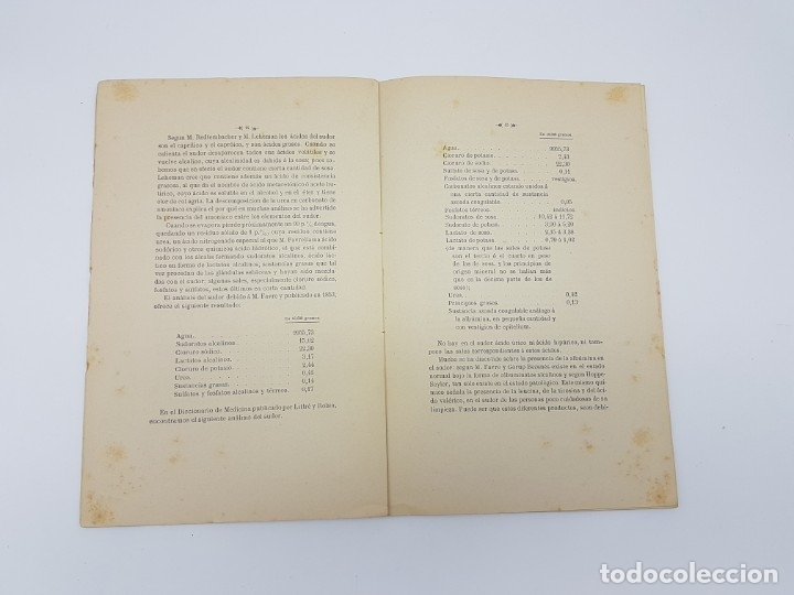 Libros antiguos: MEMÓRIA PARA DOCTOR MEDICINA ( SUDORES MORBOSOS ) BARCELONA 1881 - Foto 8 - 181999211