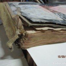 Libros antiguos: ANTIGUO LIBRO MANUSCRITO ALICANTE LIBRO RECETARIO OFICIAL FARMACIA. Lote 182001652