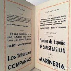 Libros antiguos: GRÁFICAS ESPAÑA. MUESTRARIO. (TIPOGRAFÍA. TIPO MÓVIL. ORLAS. VIÑETAS) . Lote 182051237