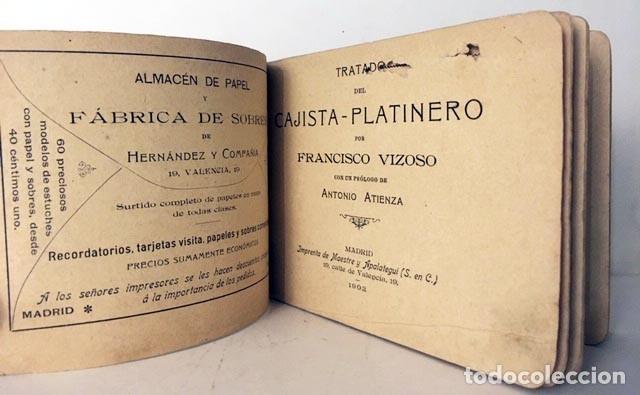 TRATADO DEL CAJISTA-PLATINERO. (VIZOSO. MADRID, 1902) ARTES GRÁFICAS ANTIGUAS. TIPOGRAFÍA (Libros Antiguos, Raros y Curiosos - Bellas artes, ocio y coleccionismo - Otros)
