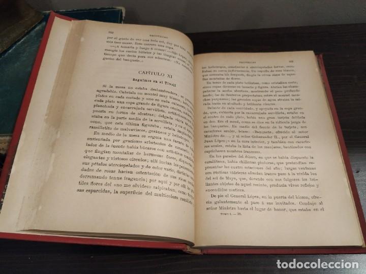Libros antiguos: PACOTILLAS - PORFIRIO PARRA - NOVELA MEXICANA - PRIMERA EDICIÓN 1900. - Foto 6 - 182075497