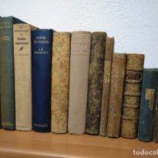 Libros antiguos: LOTE DE 12 LIBROS ANTIGUOS DESDE 1715 A 1934, LA MAYORÍA DEL SIGLO XIX.. Lote 182103311