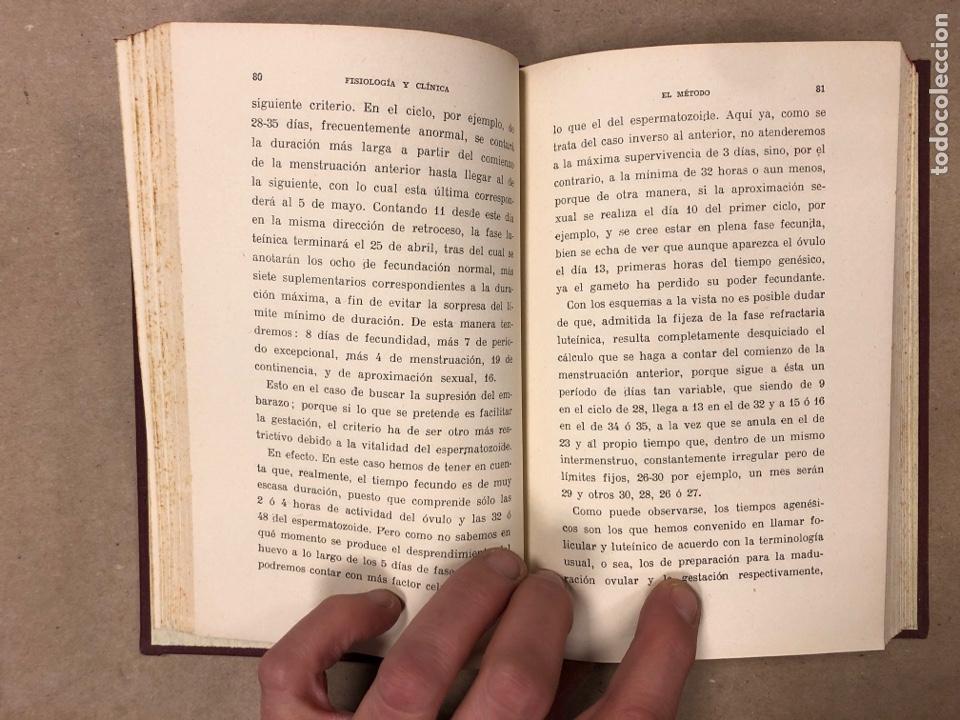 Libros antiguos: OGINOISMO, LIMITACIÓN MORAL DE LA NATALIDAD. J. BERMÚDEZ BERNARDO. SUCESORES DE JUAN GILI 1936 - Foto 4 - 182129942